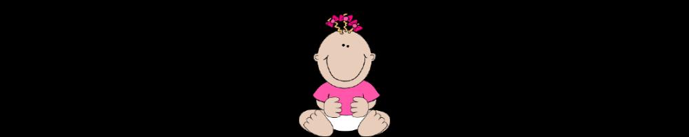 Banderolle bebe fille 1