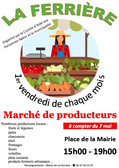 Marché de Producteurs (La Ferrière)